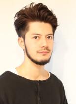ビジネスに 大人カッコいいツーブロック(髪型メンズ)
