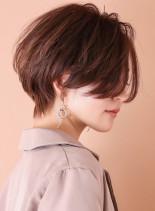 すっきりハンサムショート◇(髪型ショートヘア)