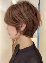 ふんわり丸みショートボブ☆(髪型ショートヘア)