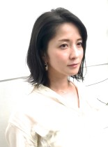 A/W大人の外ハネボブ(髪型ボブ)