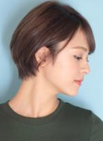 30代*40代カットで作るショートヘア☆
