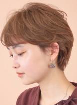 柔らかショート☆スタイリング楽☆(髪型ショートヘア)