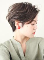 ☆30代・40代☆大人のエアリーショート(髪型ショートヘア)