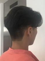 かきあげフェード(髪型メンズ)