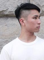 外国人風刈り上げスタイル(髪型メンズ)