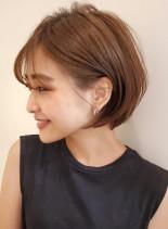 長めなら丸みショートボブ☆(髪型ショートヘア)