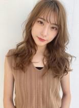 大人のアッシュベージュ&似合わせカット☆(髪型ロング)