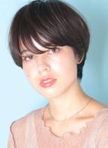 ツヤ髪◇女っぽマッシュショート(髪型ショートヘア)