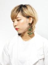 大人可愛い外国人風ショート(髪型ショートヘア)