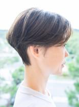 風そよぐ髪、しなやかショート(髪型ショートヘア)