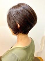 40代・50代◎後頭部ボリュームショート(髪型ショートヘア)