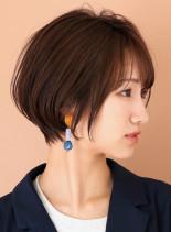 柔らかい丸みショートボブ☆(髪型ショートヘア)