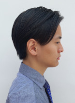 大人ツーブロックビジネスショート(髪型メンズ)