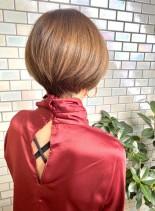 40代・50代◎大人女性のショートボブ(髪型ショートヘア)