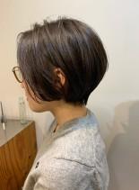30代、40代に大人気のショートボブ(髪型ショートヘア)