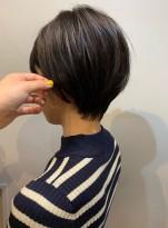 大人可愛いショートヘア☆簡単スタイリング