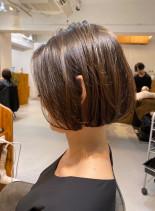 30代40代似合わせカット ボブスタイル(髪型ボブ)