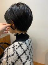 大人可愛いスッキリショート(髪型ショートヘア)