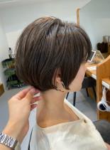 30代40代の似合わせショートカット(髪型ショートヘア)