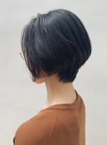 乾かすだけで美シルエットショートボブ(髪型ショートヘア)