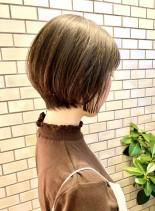 30代・40代◎ふんわりショートボブ(髪型ショートヘア)