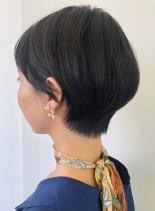 襟足美人ショート(髪型ショートヘア)