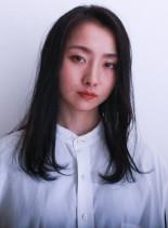 シアーロング(髪型セミロング)
