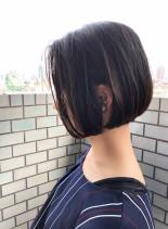 30代似合わせ大人ショートボブ(髪型ボブ)