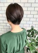 40代・50代◎大人女性のショート(髪型ショートヘア)