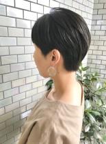 40代・50代◎キレイな大人ショート(髪型ベリーショート)