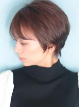 30代*40代 360度大人美人ショート(髪型ショートヘア)