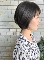 30代・40代◎ナチュラルな大人ショート(髪型ショートヘア)