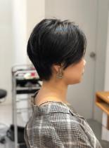 似合わせ大人ショートボブ(髪型ショートヘア)