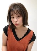 エアリーレア髪ボブ(髪型ボブ)