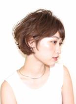ゆるふわさっぱりショートヘア(髪型ショートヘア)