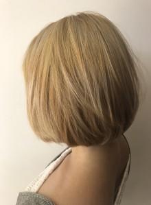 ケアブリーチ レア髪ブリーチボブ(ビューティーナビ)