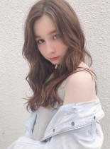 ゆるふわ♪大人可愛い小顔hair☆(髪型ロング)