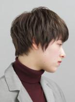 ゆるふわコンパクトマッシュショート(髪型ショートヘア)