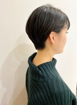 30代・40代◎ステキなベリーショート(髪型ショートヘア)