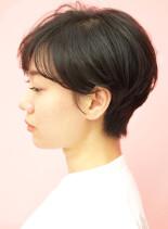 30代40代手入れ簡単大人ショートヘア(髪型ショートヘア)