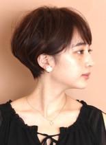 大人女子支持率No1☆柔らかショートヘア(髪型ショートヘア)