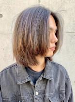 カートコバーン風ボブ(髪型メンズ)