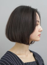 グラボブ風ワンレンボブ(髪型ボブ)