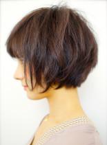 40代50代  小顔大人ショートヘア(髪型ショートヘア)