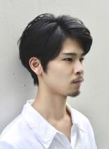 刈り上げない大人ショート(髪型メンズ)