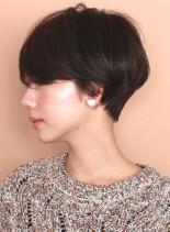 クールにシンプルに☆大人ショート(髪型ショートヘア)