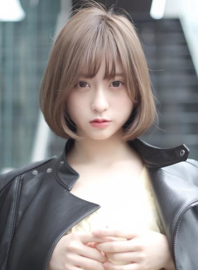 タンバルモリ ミルクティーカラー (髪型ボブ)
