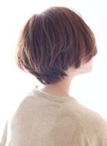 ふんわり感No1☆大人のショートボブ(髪型ショートヘア)