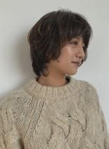 ナチュラルウルフ(髪型ショートヘア)