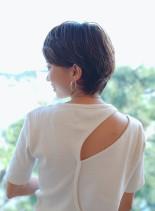 マニッシュショート(髪型ショートヘア)